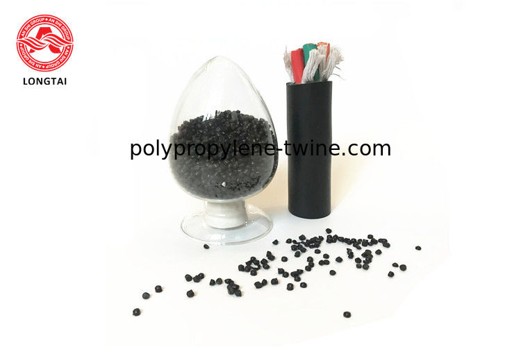 UL Standard PVC Cable Compound  Wearproof 90deg Black Color For Sheathing  Cable