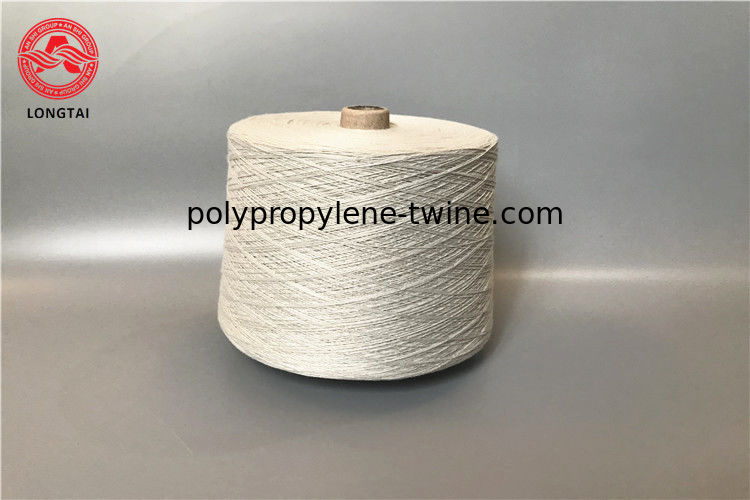 10s 8s 20s Thread Yarn , Recycle Spun Cotton Polyester Yarn