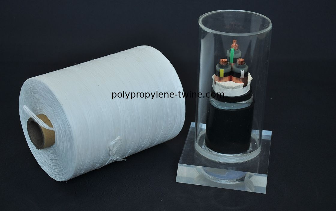 Low / Medium Voltage Cable Filler Yarn  Breaking Strength 0.2-1.4g/D