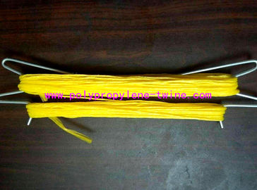 1mm 1200m/Kg Packing PP Tomato Twine For Agricultural UV Treated Yellow