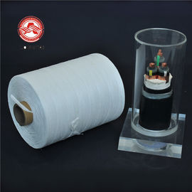 Waterproof Soft  PP Filler Yarn Higher Voltage Cable Fibrillated Untwisted