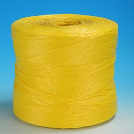 2g / m Agriculture Polypropylene Twine , High UV Stabilisation Yellow Banana Baler PP Twine