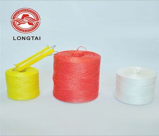 High Tenacity 6000D Tomato Tying Twine , Virgin PP Baler Twine UV Treated