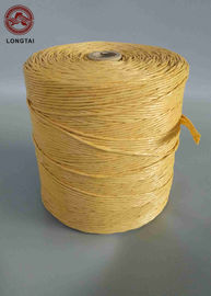 Yellow Color PP Cable Filler Material Yarn Per Meter 33-36 Twisted Environmentally Friendly