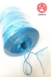 China Fibrillated Split Film PP Twine In Ball Roll And Spool / Polypropylene Rope factory