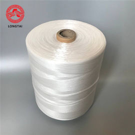 High Tenacity 100% Virgin Raw White  PP Fibrillated Wire Cable Filler Yarn
