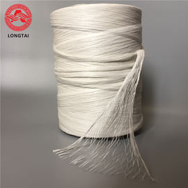 Non Twist Split  PP  Fibrillated Yarn For Low Voltage Power Cable