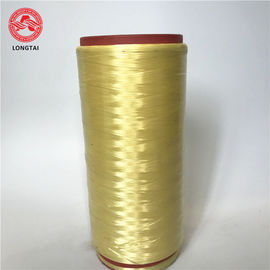 Yellow Cable Filler Material 200D - 3000 D High Strength Aramid Fiber Yarn From Dupont Kevlar
