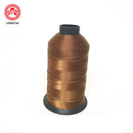 Knitting Polyester Sewing Thread Spun Dyed Color 20S / 3 210d 5000yd Length