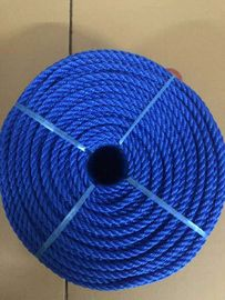 3 strands Twisted UV treated High breaking strength Blue PP rope PE Rope
