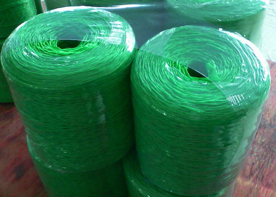 1-5mm Green Fibrillated Polypropylene Twisted Twine Rope For Agriculture