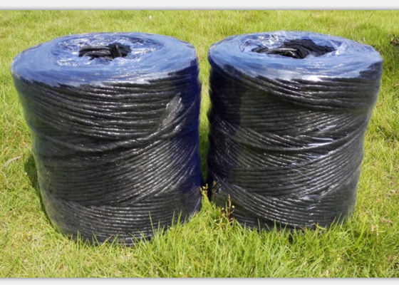Webbing And Sewing Polypropylene Twine / PP Split Fibrillated Yarn 1000D~8000D