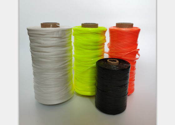 5000D 10mm 11mm PP Tape For Sewing Bag Tying Packing Colorful Polypropylene Twine