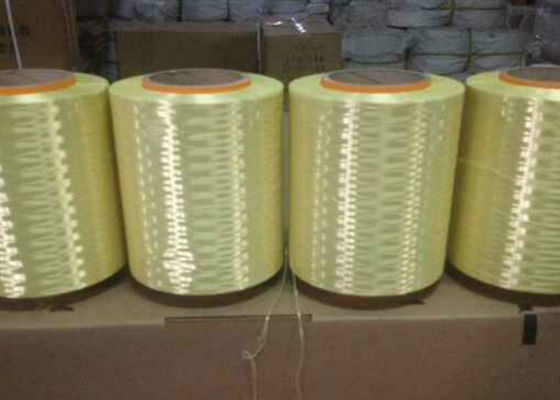 High Tenacity 1000D 1500D Dupont Aramid Yarn For Cable Filler