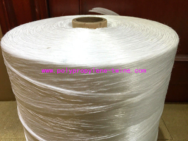Electrical Cables Polypropylene Yarn Low Shrinkage White Colored 18000D - 270000D