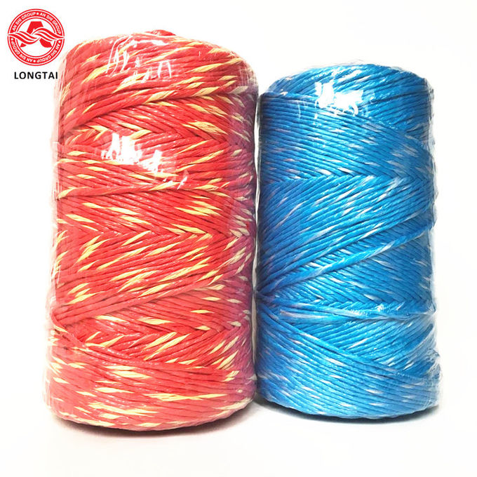 100% Virgin Blue PP Twisted Hay Poly Baler Twine 1 - 3mm